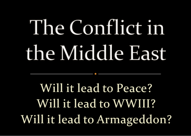 a history of the conflict in the middle east The first world war, the map of contemporary arab states in the middle east  resulted  the middle east became vulnerable to conflicts due to its internal  difficulties  history of the middle east since the beginning of the 20th century:  ottoman.